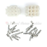 Wheel Horse 520 9 Pin Molex Connector Kit